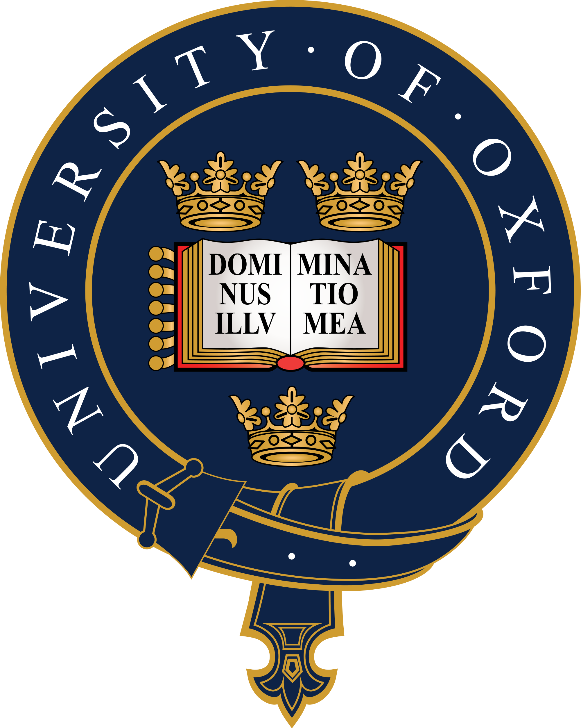 University Of Oxford Coat Of Arms شعار النبالة Pinterest - Where is oxford located