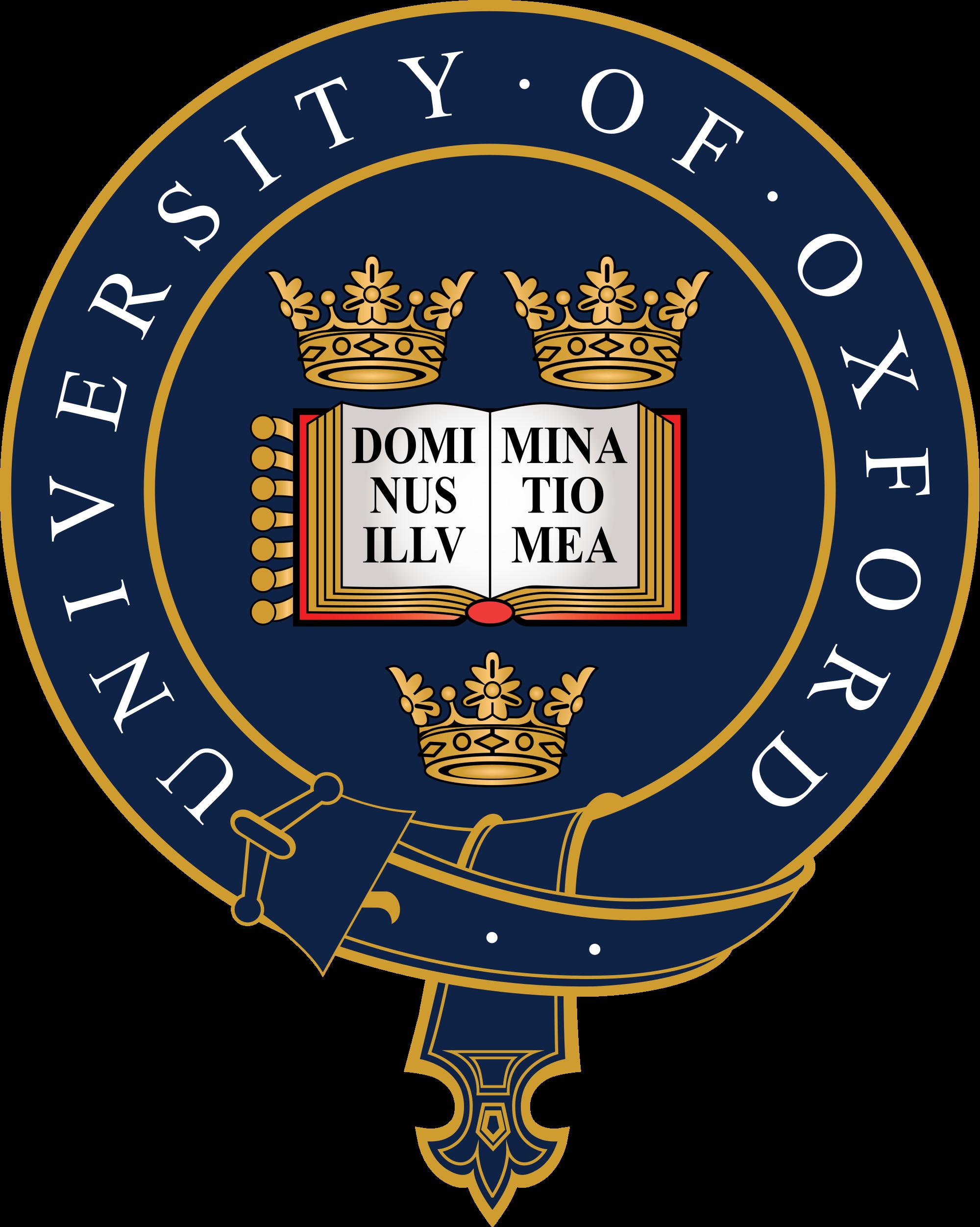 oxford university logo ile ilgili görsel sonucu