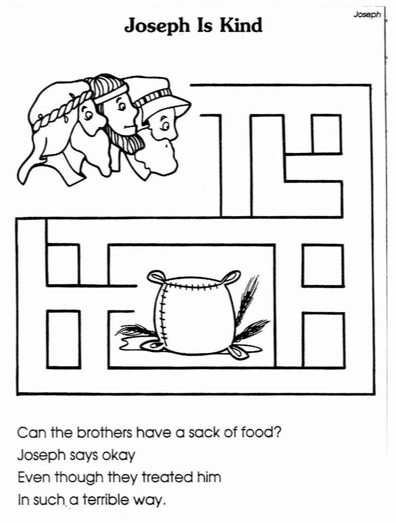 Free Coloring Pages Download Joseph Sold By His Brothers Crafts Google Search Sunday School 5