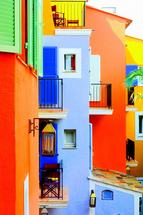 Colorful living!