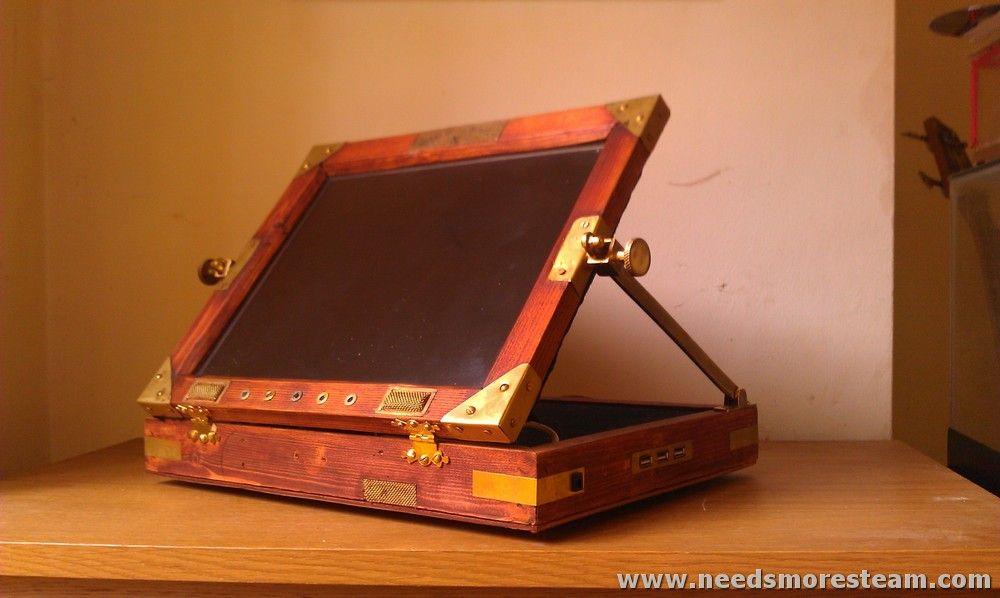 steampunk tablet | dieses steampunk tablet von needs more steam ist wohl eine der ...