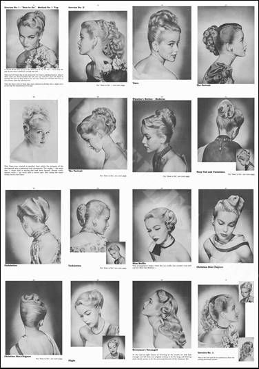 Womens Hair 1950s Vintage Hairstyles Vintage Hairstyles For