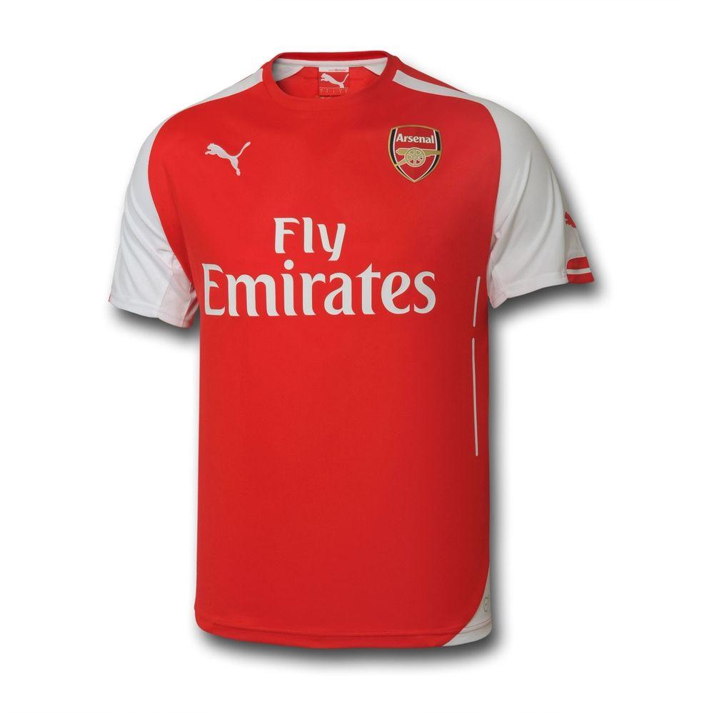 Puma Adult 2014/15 S/S Home Shirt at Arsenal Direct