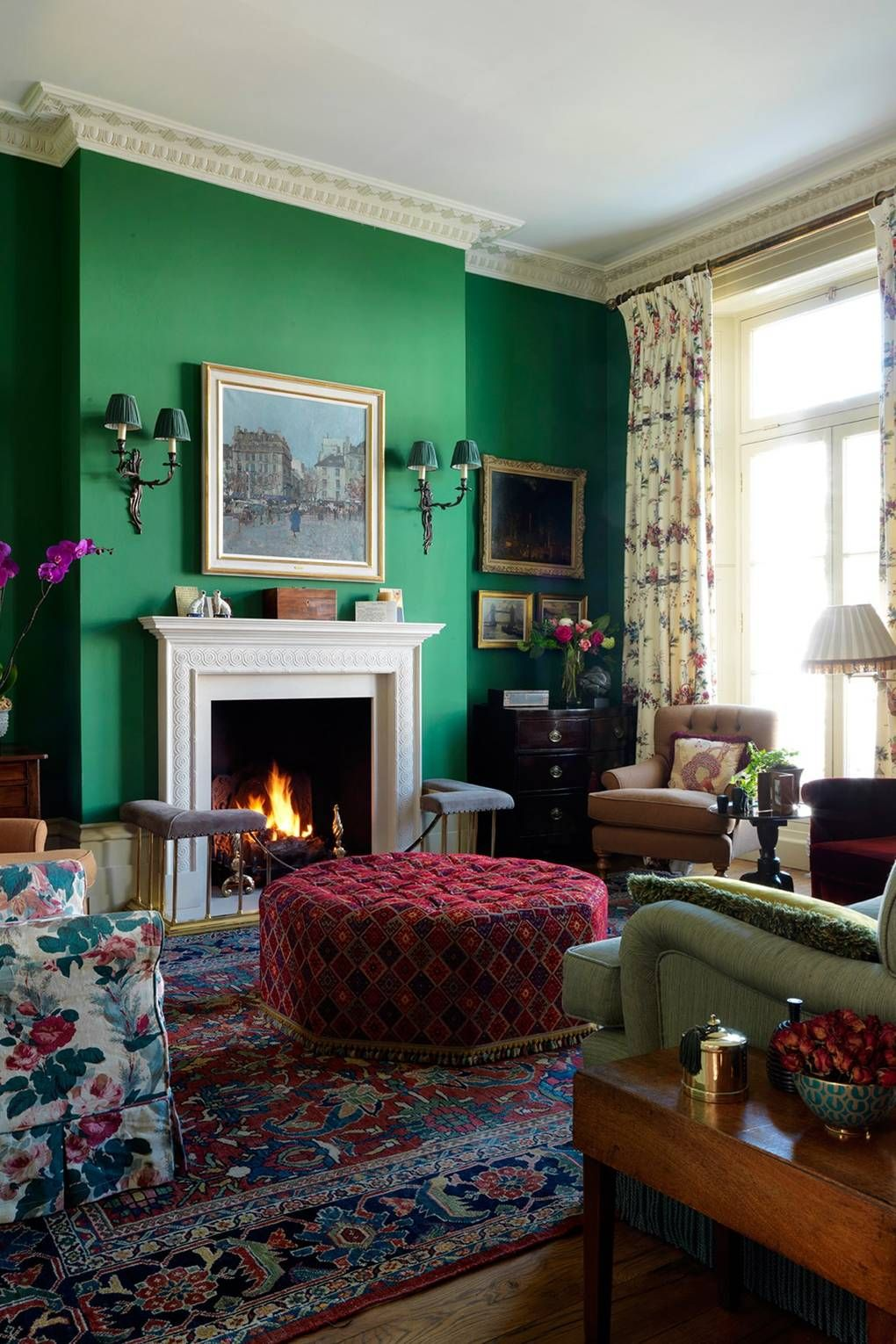 19th Century Drawing Room: This Colourful 19th Century House Is Decorator Gavin