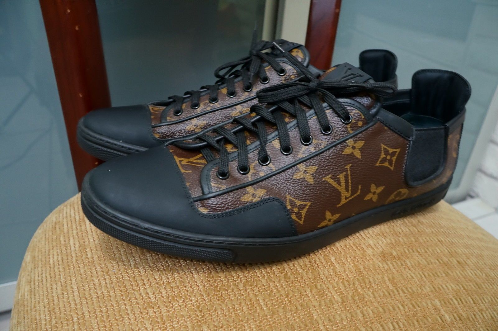 694fb5d8a7a Details about Authentic Louis Vuitton Men's Sneakers Size 12 (US ...