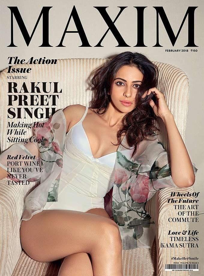 Rakul Preet Hot Photoshoot For Maxim Magazine 2018 | Cine Insta ...