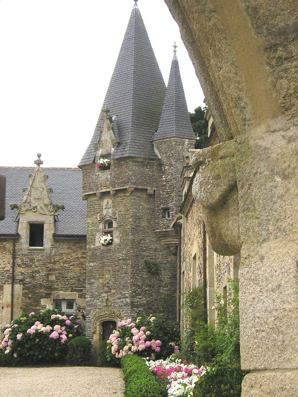 Château de Rochefort-en-Terre, Bretagne en 2019   Chateau bretagne, Carte de france ville et ...