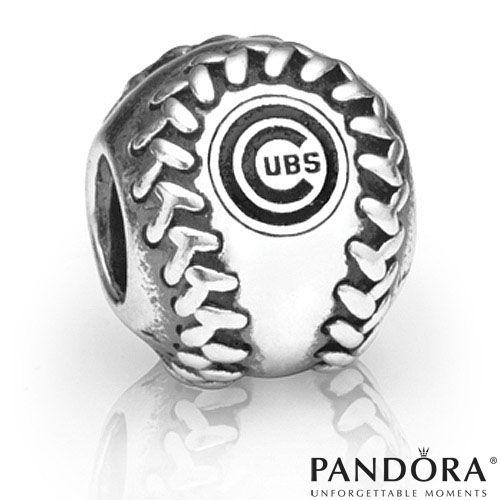 Chicago Cubs Mlb Baseball Charm By Pandora 174 Jewelry Mlb