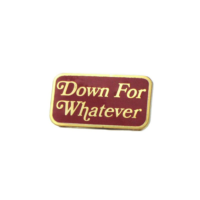 marvelous Terestpin Part - 2: Down For Whatever Lapel Pin