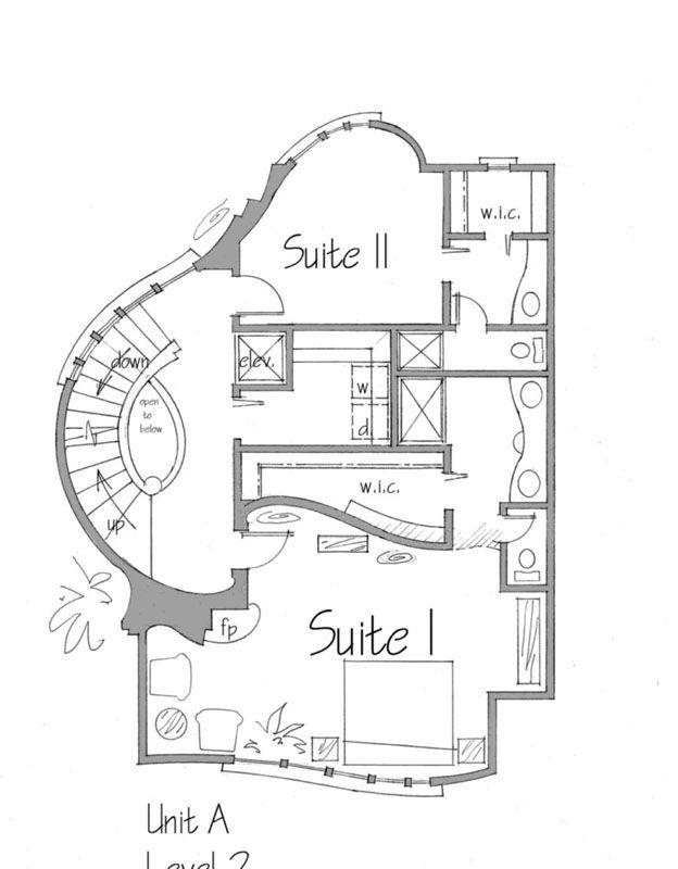Fantasy House Plan Willow A Unique House Plans House Plans Best House Plans