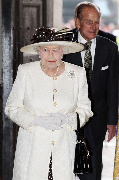 Queen Elizabeth II Attends 400th Anniversary of King James Bible