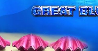 Slot game great blue a unique betting game to discover and enjoy