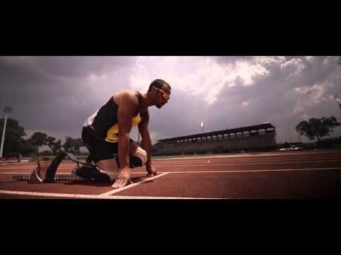 Oscar Pistorius has no lower legs. He's also running the 400m for S. Africa at the Olympics in London. Challenge yourself.