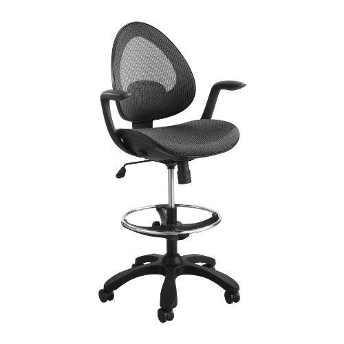 Safco Products Helix Extended Height Chair, Black by Safco. $268.95 on folding office chair, guest office chair, standard office chair, adjustable height folding chair, best work counter height chair, restaurant bar height high chair, drafting style office chair, low profile office chair, industrial office chair, weight capacity office chair, chrome office chair, swivel office chair, off-road office chair, ergonomic office chair, white office chair, task office chair, memory foam seat cushion office chair, star brand office chair, stacking office chair,