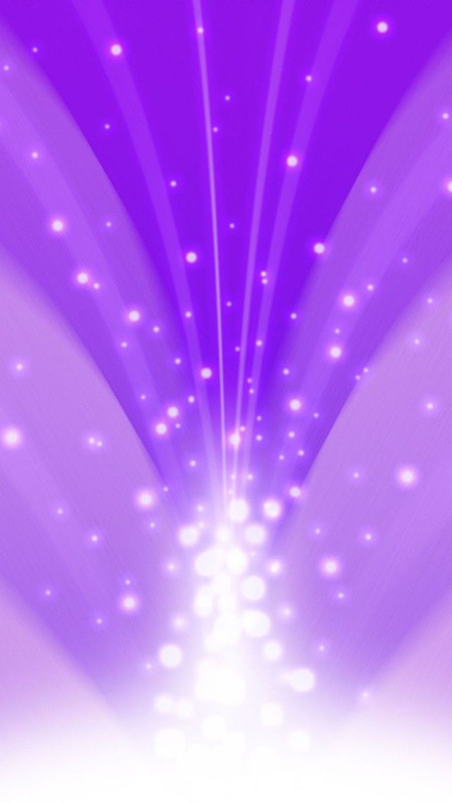 Cascade Of Magic Powder Light Purple IPhone 5 Wallpaper