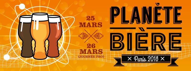 Paris Food & Drink Events: Planète Bière 2018 Paris – 4ème édition March 25, 2018 @ 12:00 - 19:00€17 - €25