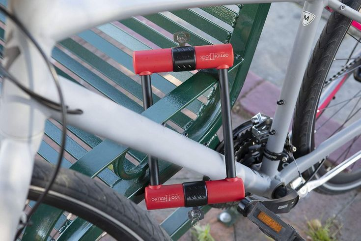 Option Lock Original Two Sided Bike Lock Bicycle Compact Lock