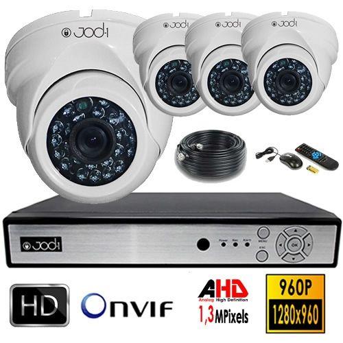 Kit Video Analogique Haute Definition Securite Maison Video Surveillance Systeme Alarme