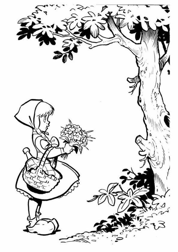 coloring page efteling efteling sprookjesboom