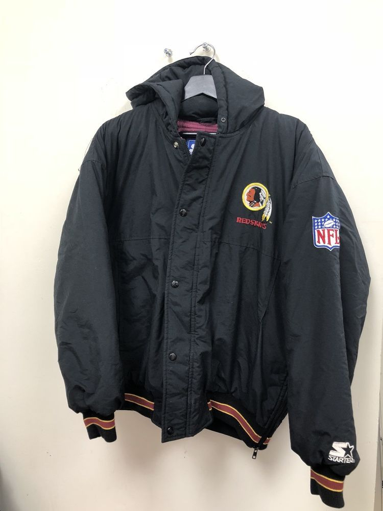 hot sale online 73c5e d6b43 Vintage Starter NFL Washington Redskins Puffer Jacket Size M ...
