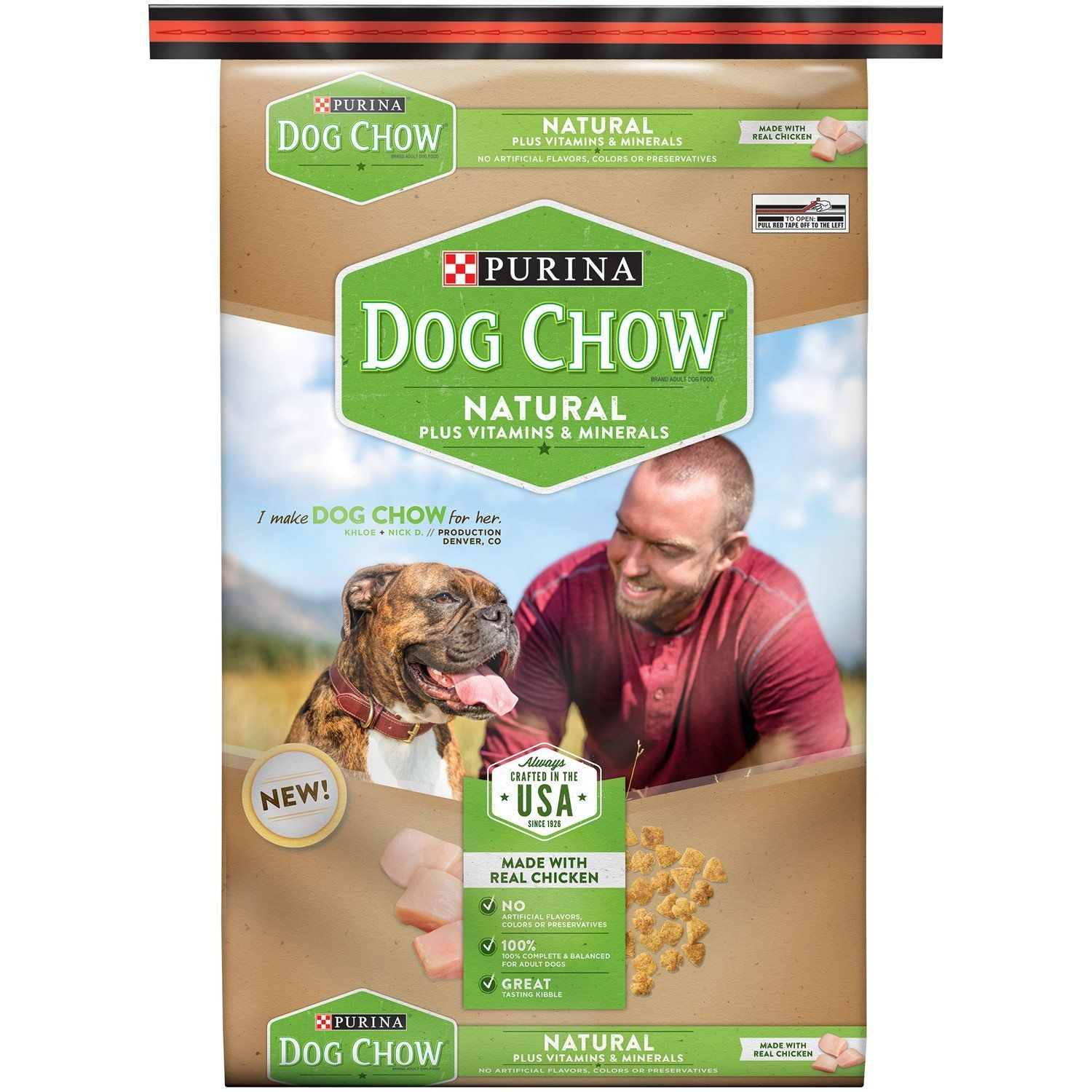 Purina Dog Chow Natural Dry Dog Food Trust Me This Is Great