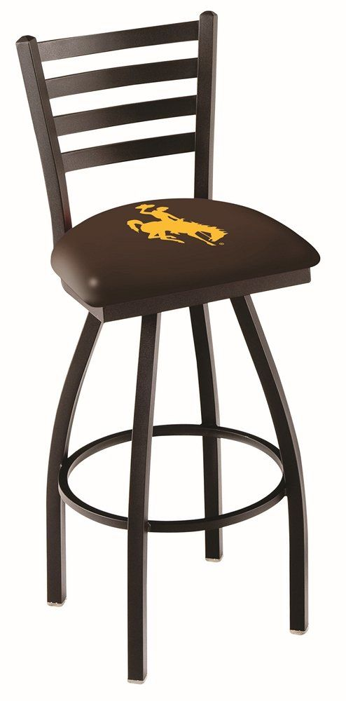 25 Inch Ladder Counter Stool University Of Wyoming Swivel Bar Stools Bar Stool Seats Bar Stools