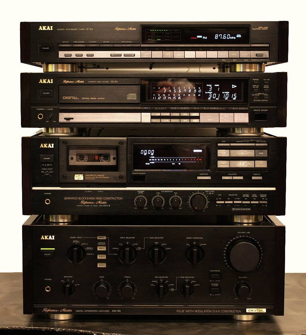 Akai Audio from the late 1980s-early 1990s    Audio   Audio