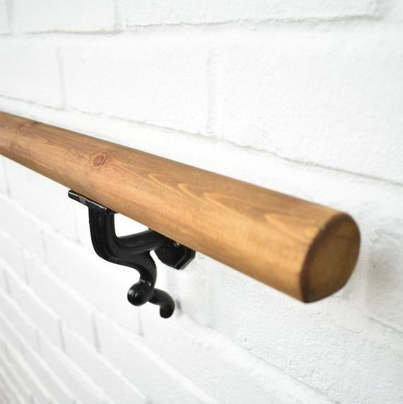 Best Handrail Wood Wrought Iron Circular Round Stair 400 x 300