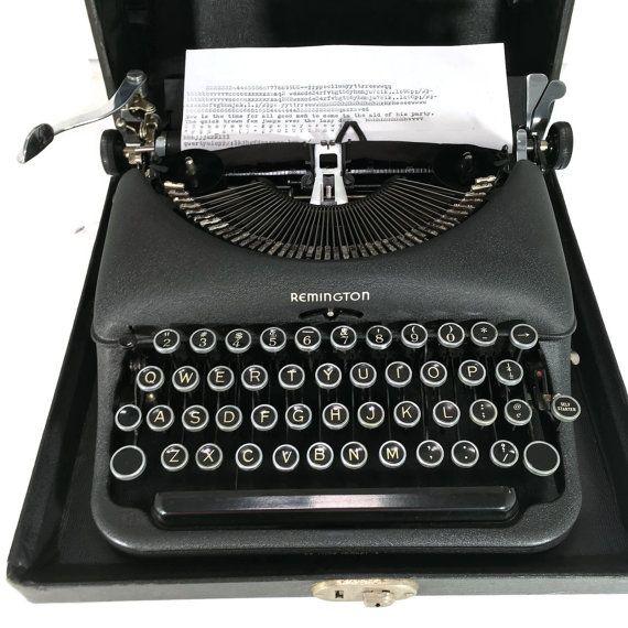Remington Portable Model 5 [boxy] (Oct. 1932-Aug. 1939)