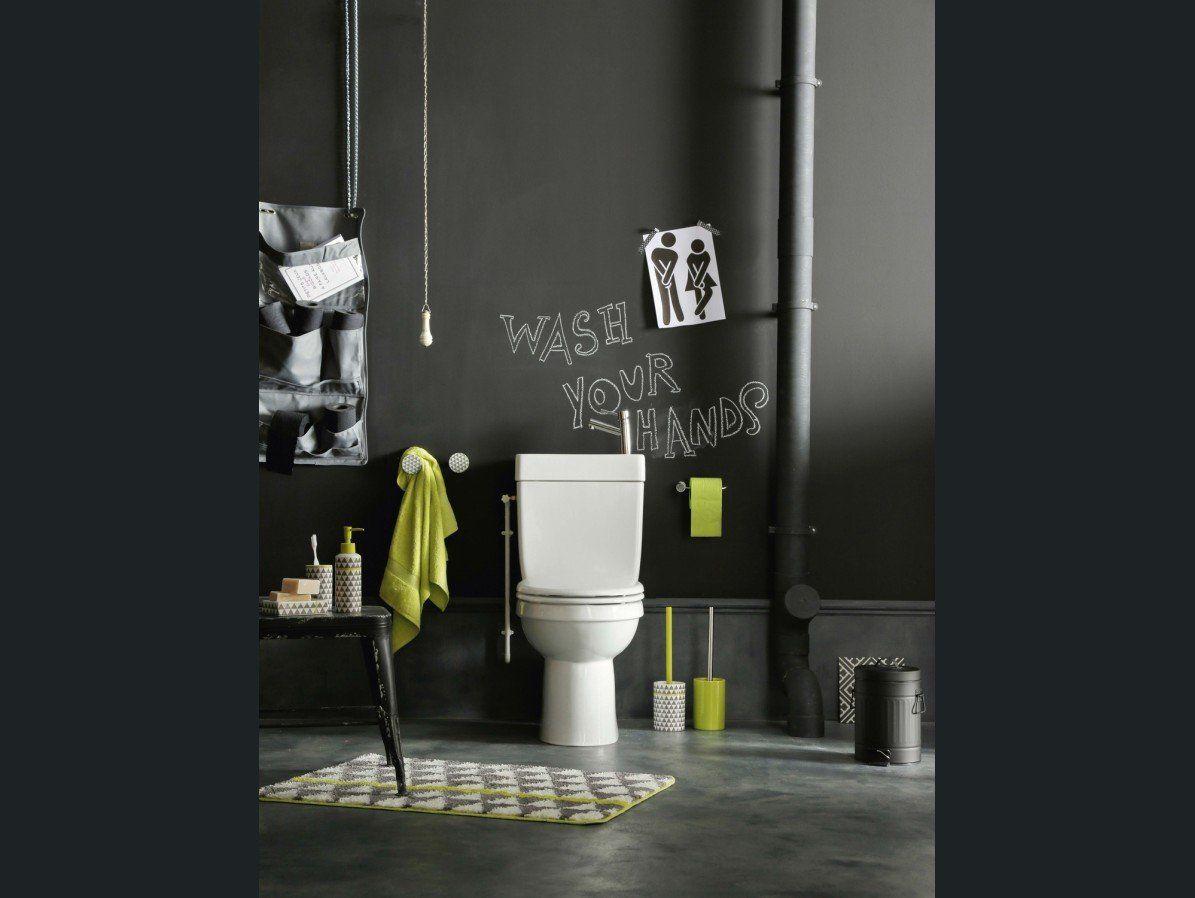 Mur Peinture Ardoise Dans Les Toilettes Inspirations Salle