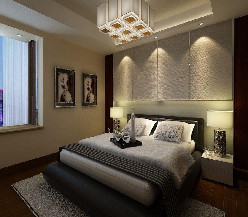 Decora o estilo minimalista em quarto pequeno quartos - Piso pequeno moderno ...