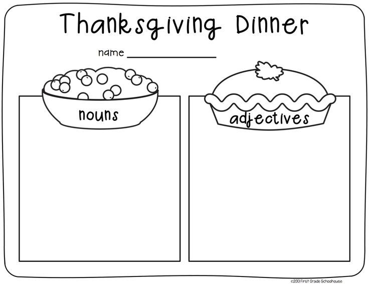 Image result for thanksgiving writing first grade