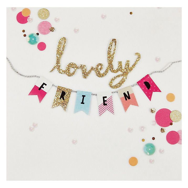 Buy carte blanche lovely friend greetings card online at johnlewis buy carte blanche lovely friend greetings card online at johnlewis m4hsunfo