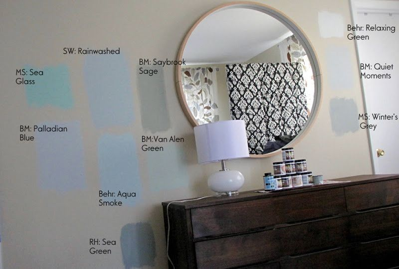 Love The Rainwashed Paint Color By Sherwin Williams Matched To Behr
