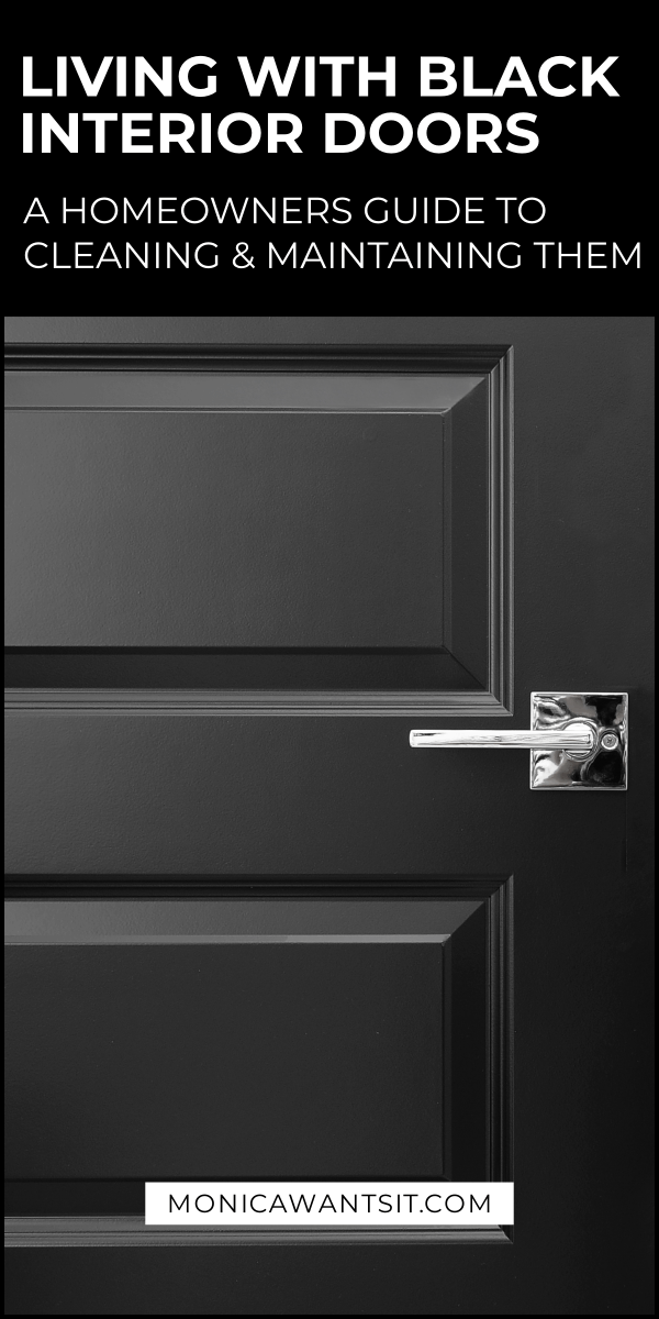 Homeowners Guide to Black Interior Doors - Monica Wants It