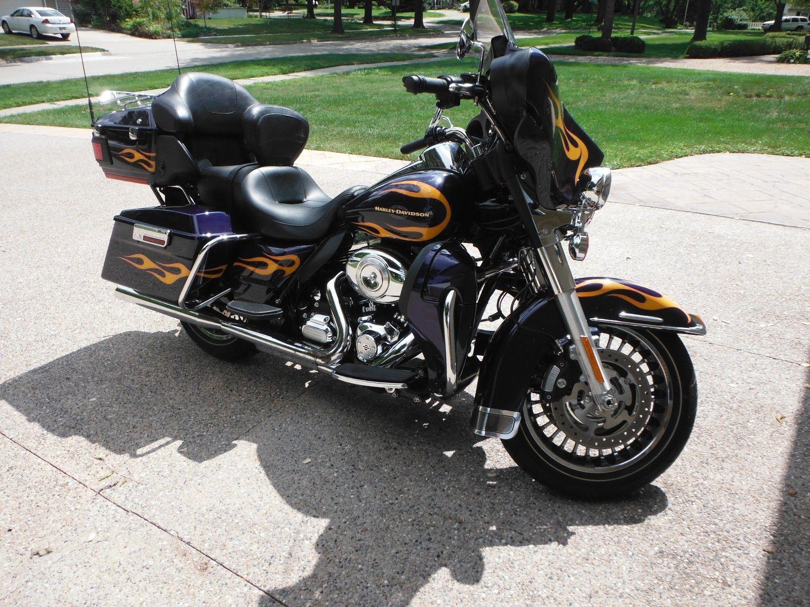 Ebay 2012 Harley Davidson Touring 2012 Flhtk Electra Glide Ultra Limited
