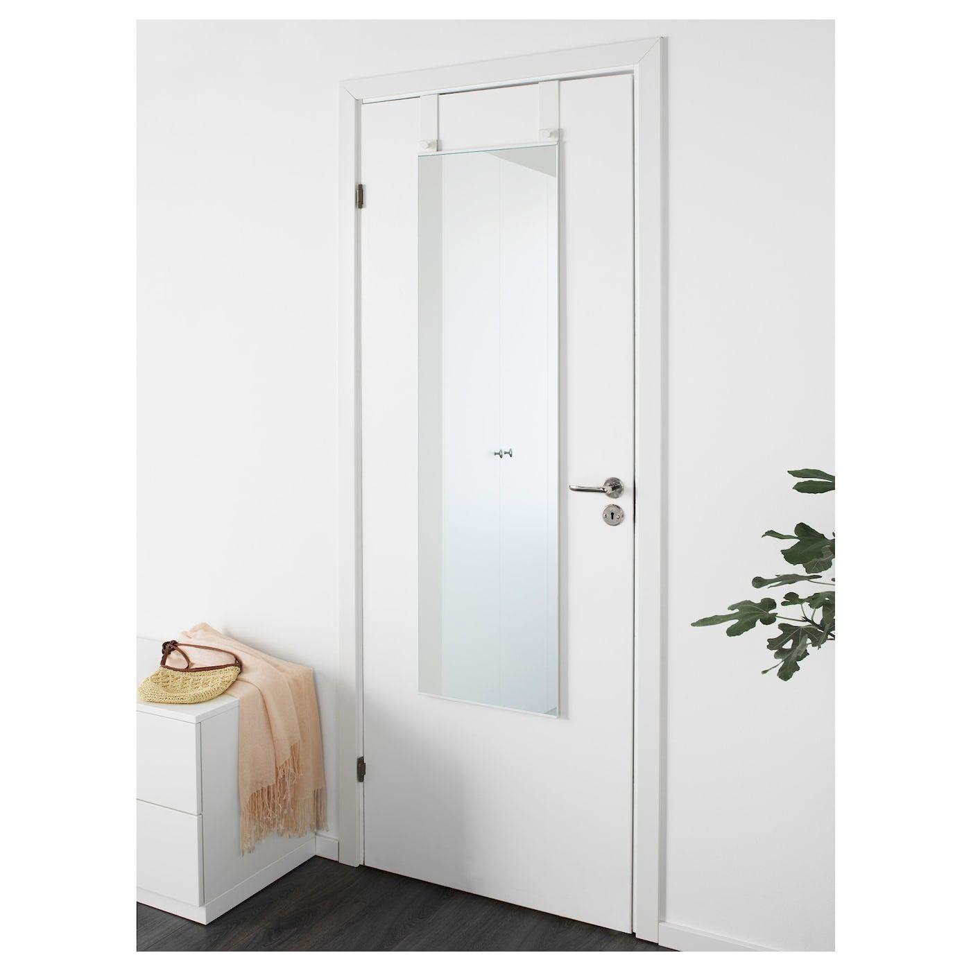 Ikea Garnes Over The Door Mirror Over The Door Mirror Mirror Door Closet Door Makeover