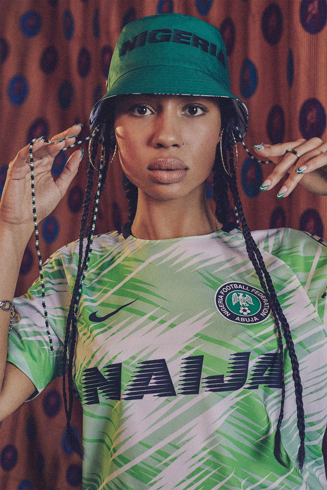 new arrival 96a56 f6421 Nike Reveals Nigeria's 2018 National Team Kits | wolf in ...