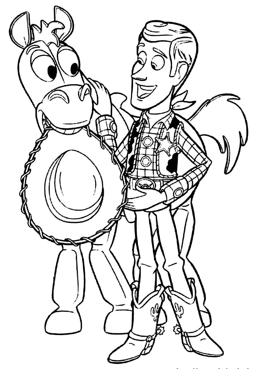 Coloriages Toy Story 30  Toy story coloring pages, Disney coloring