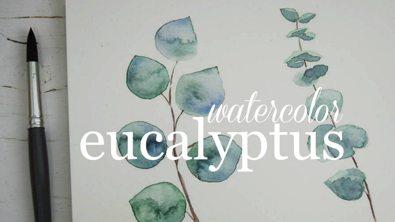 How To Paint Eucalyptus Watercolor Techniques Explained