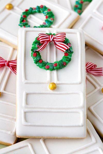 Christmas Door Cookies  Christmas BakingHoliday Treats