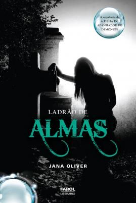 Brazilian edition (Bk 2)  Ladrão de Almas. This is one of the most haunting covers I've ever seen. It's so perfect for the second book in the Demon Trappers series.