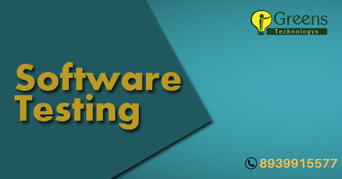 Best Software Testing Training Institute In Chennai With