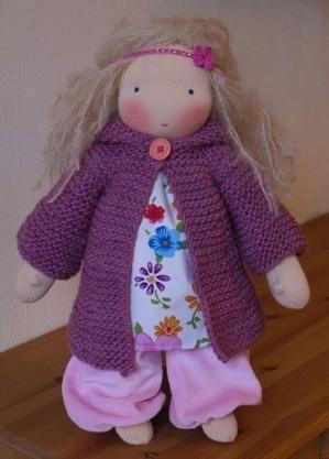 waldorf doll by patsy