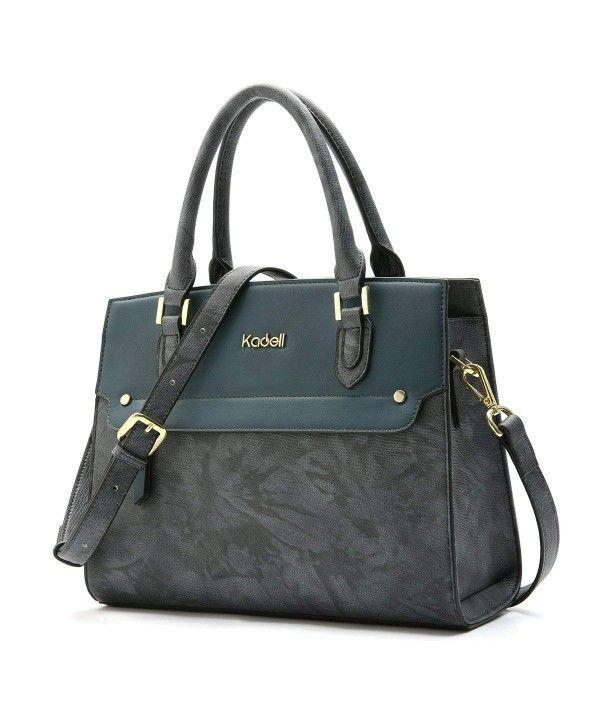 Women's Bags, Top-Handle Bags, Women's Vintage Leather Handbags Tote Satchel Sho…