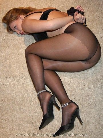 This good legs pantyhose tied up love