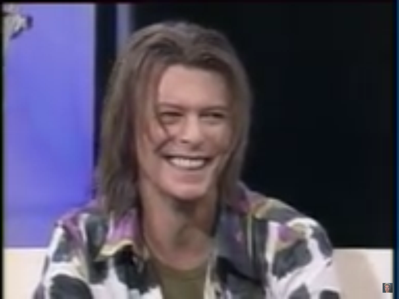 David Bowies Glorious Long Hair 1999 2000 David Bowie Bowie Rosie Odonnell