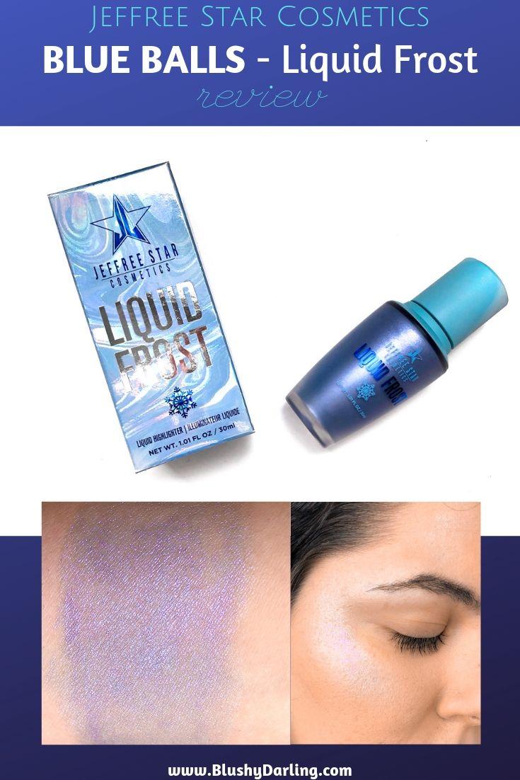 Jeffree Star Cosmetics Blue Balls Liquid Frost Cosmetics