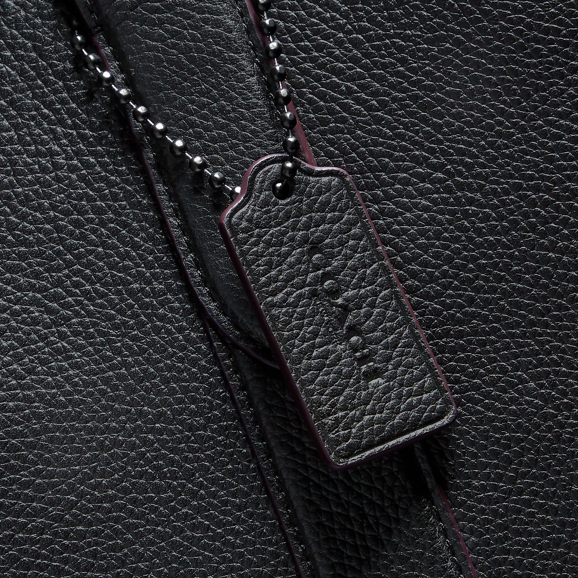 Metropolitan soft vertical tote   Minimalist bag, Coach