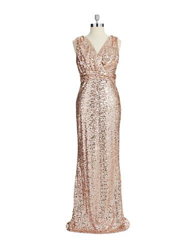 Womenu0027s Clothing | Formal/Evening | Sequin Gown | Lord And Taylor BELLE BY  BADGLEY